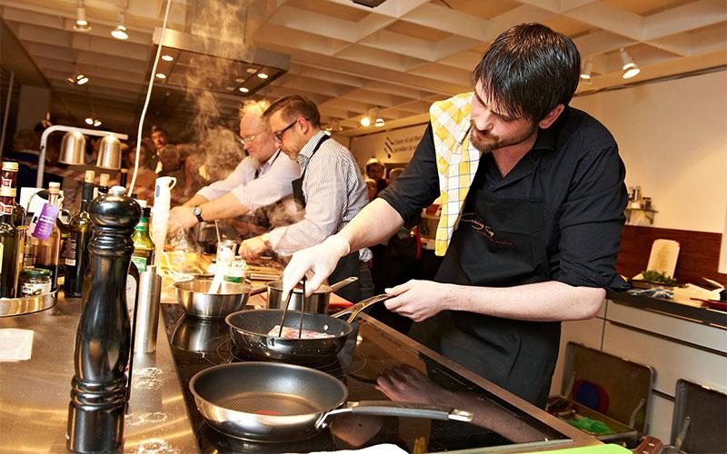 Concurso de cocina organizado por una revista alemana - Concurso de cocina ...