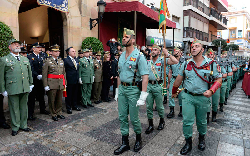 Por segundo año consecutivo, La Legión desfiló en Algeciras