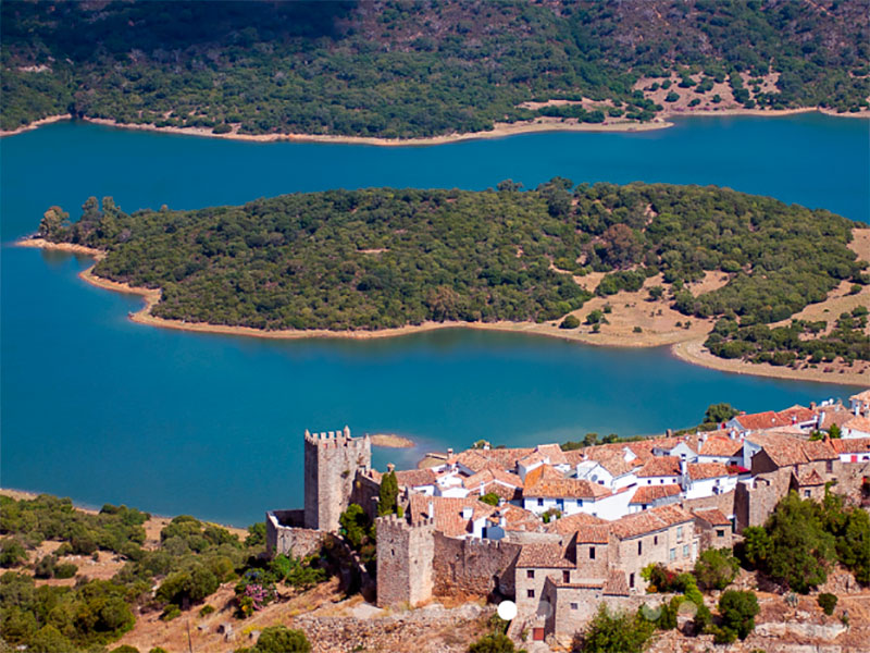 Castillo y embalse de Castellar de la Frontera (Ayto.)