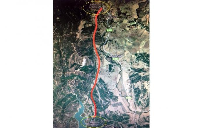 ruta senderista Castellar Jimena