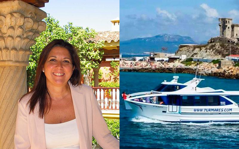 Susana Ruiz Quintero directora del Hotel Alboran Algeciras y Turmares Tarifa