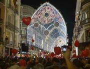 Malaga luces Navidad 2017