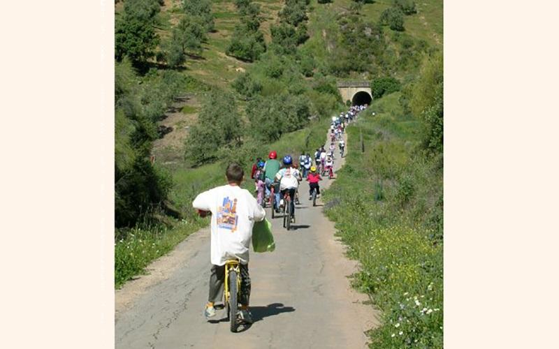 prueba-ciclista-en-la-via-verde