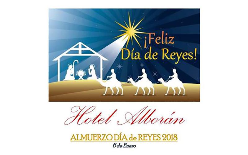 Hotel Alboran Algeciras almuerzo Reyes Magos 2018