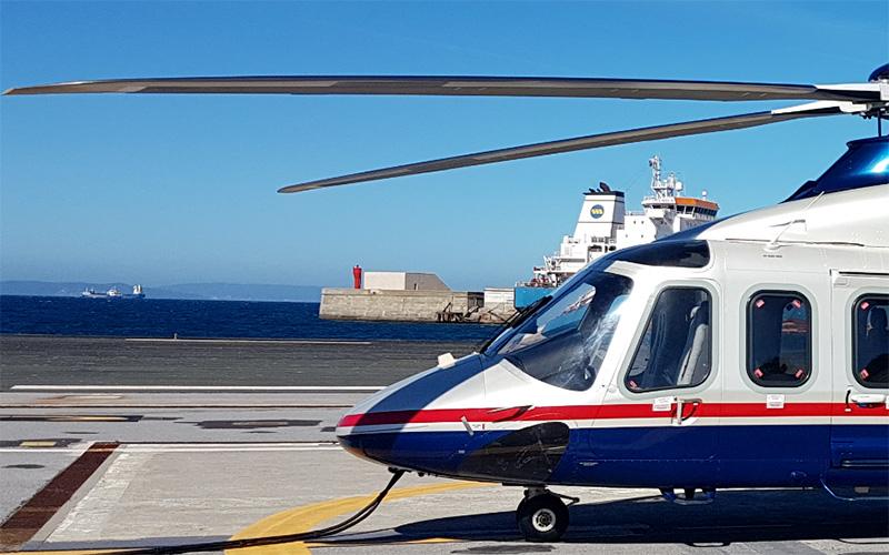 helicoptero Estrecho de Gibraltar