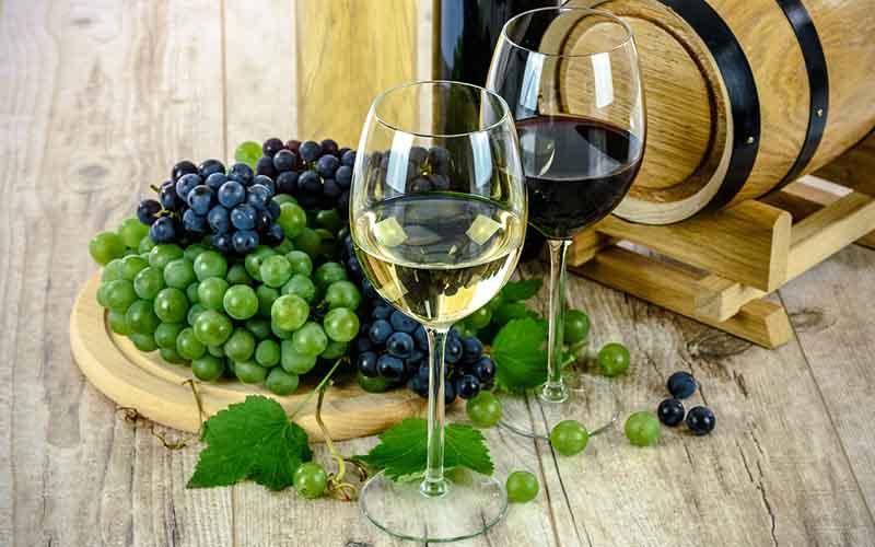 vino blanco tinto
