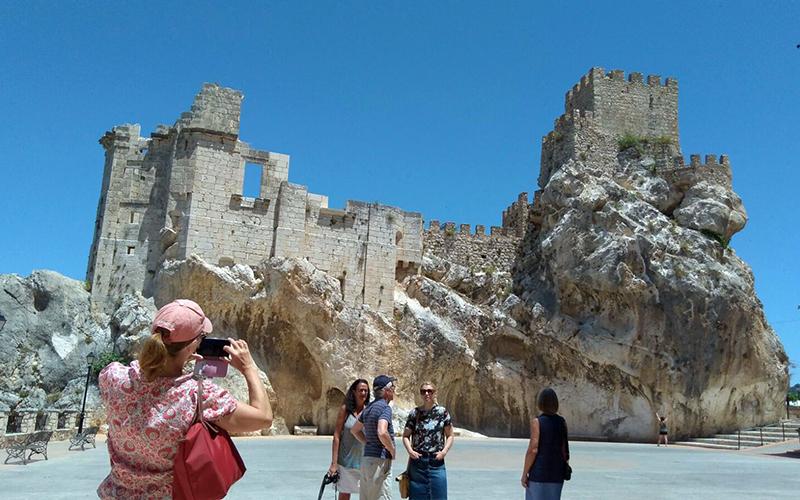 Andalucia turistas