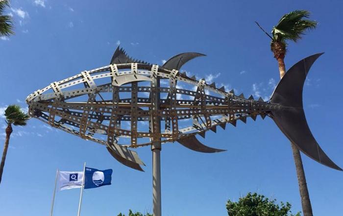 banderas azules foto de Conil Turismo