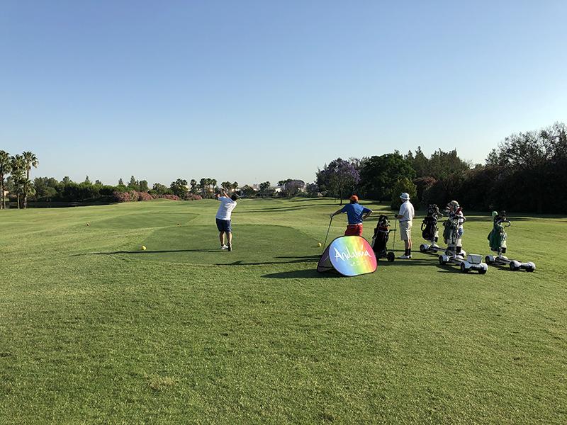Andalucía en verano también es golf (Junta)