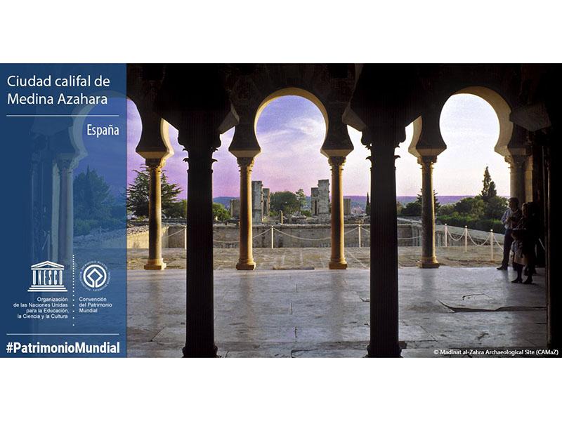 Medina Azahara Patrimonio Mundial de la Humanidad por la Unesco
