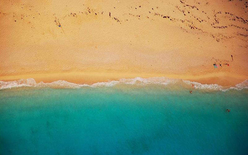 verano playa calor
