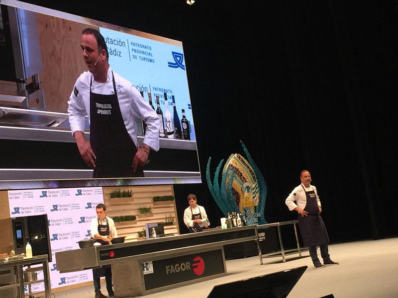 Ángel León en Gastronomica 2018 (Diputación de Cádiz)