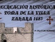 Zahara de la Sierra recreacion historica 2018
