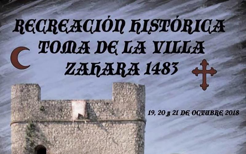Zahara de la Sierra recreacion historica 2018