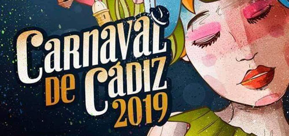 Fechas y cartel oficiales del Carnaval de Cádiz 2019