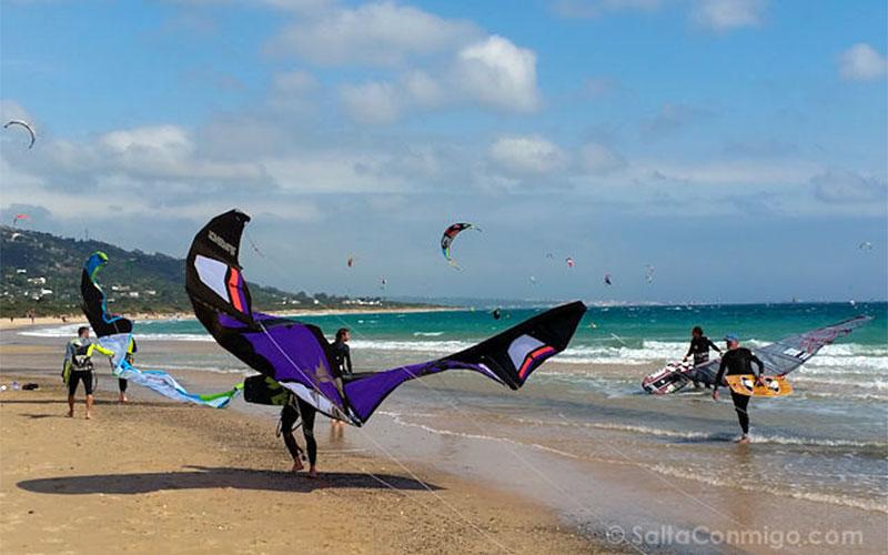 Cadiz-Tarifa-Playa-Valdevaqueros-Cometa-Batman