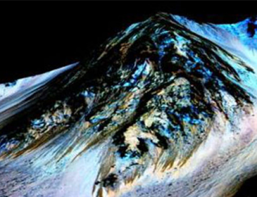 Hay agua líquida en Marte. Ahora. Por Laura Berdejo