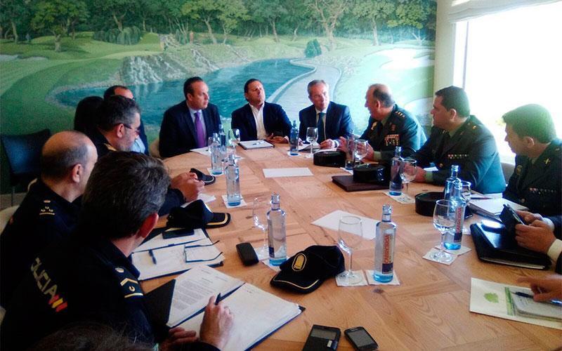 San-Roque-reunión-seguridad-Open-de-España-de-Golf