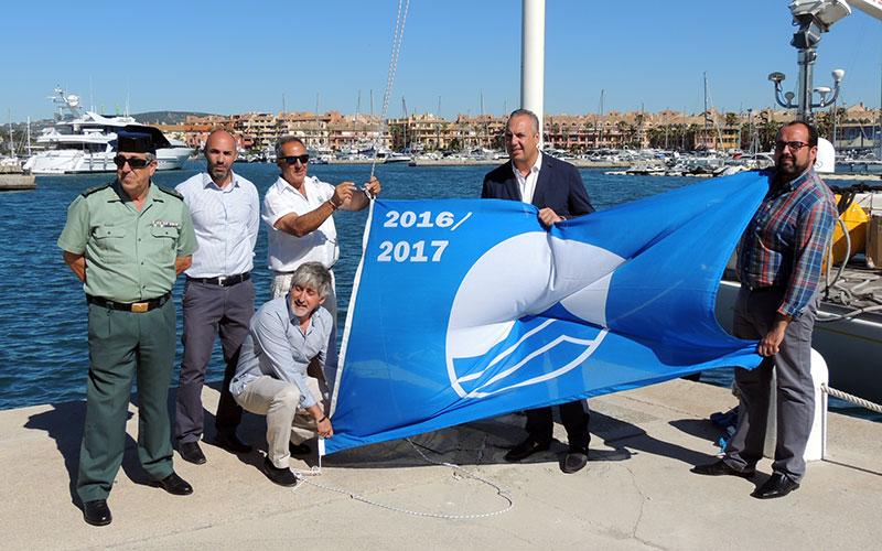 San-Roque-puerto-de-Sotogrande-bandera-azul