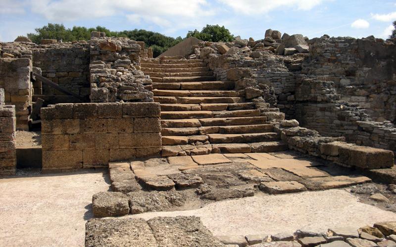 San Roque Carteia escalera monumental