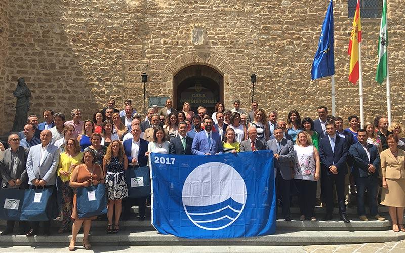 Andalucia-banderas-azules-2017