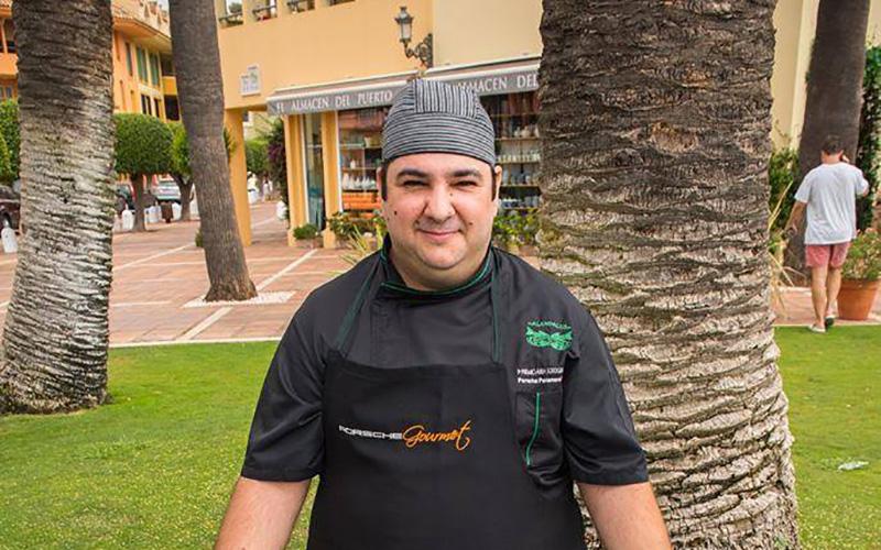 Manuel Jesus Acosta Espinosa chef Celebraciones El Campanario y Al Andalus