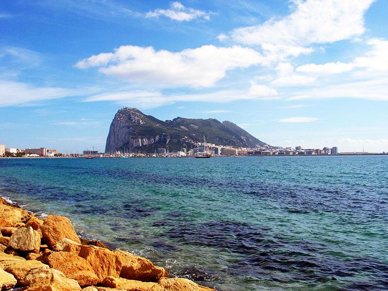 Bahía de Algeciras, desde La Línea, y Gibraltar (José Luis GC)