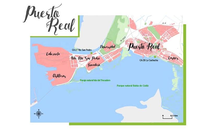Monplamar playas de Puerto Real