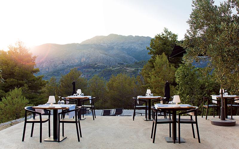 Terraza del Vivood Landscape Hotel