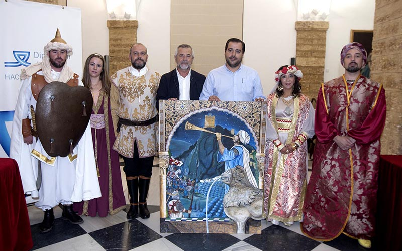 Zahara de la Sierra recreacion historica 2017
