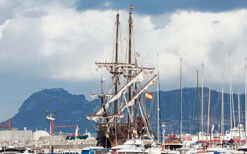 Algeciras-galeon-Andalucia-foto-de-Daniel-Gil-Jimenez