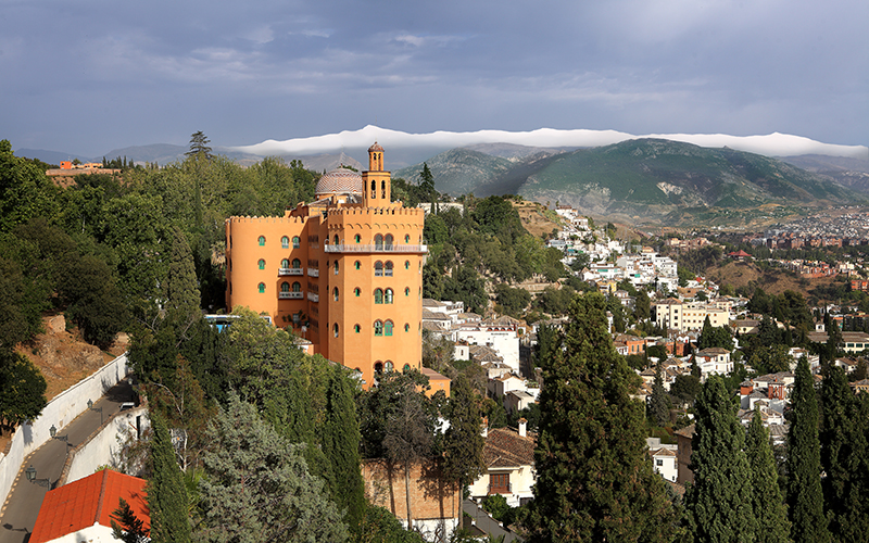 Granada Hotel Alhambra Palace 1