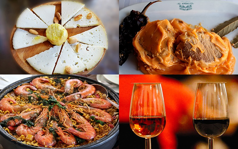 gastronomia de la provincia de Cadiz