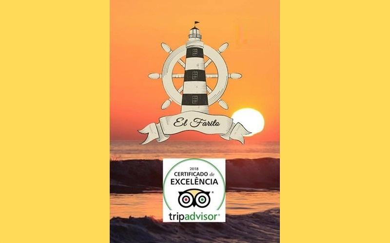 Chiclana Restaurante El Farito Certificado de Excelencia 2018 tripadvisor