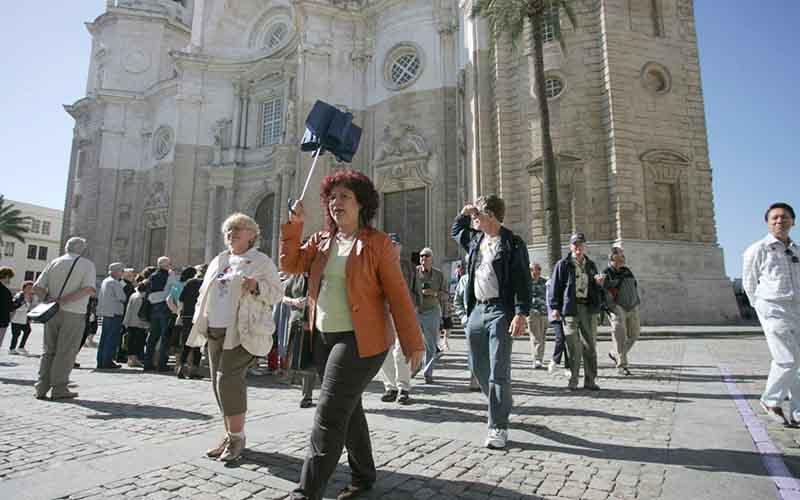 turistas foto de Cadiz Turismo