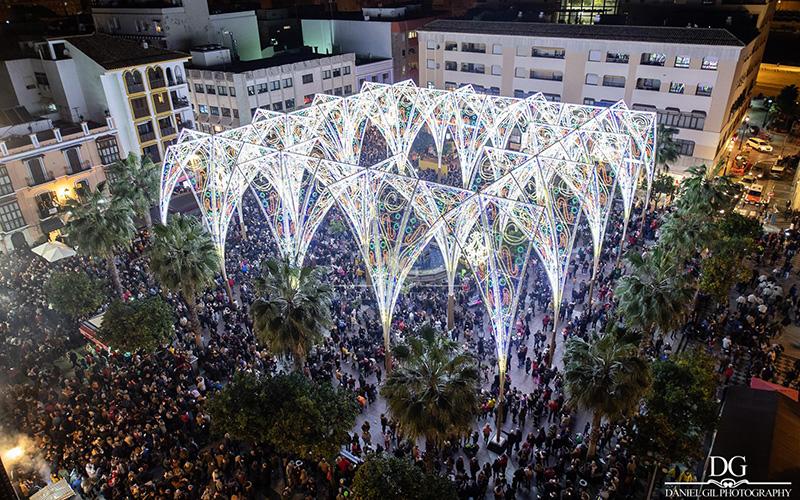 Algeciras Navidad 2018 foto de Daniel Gil Jimenez