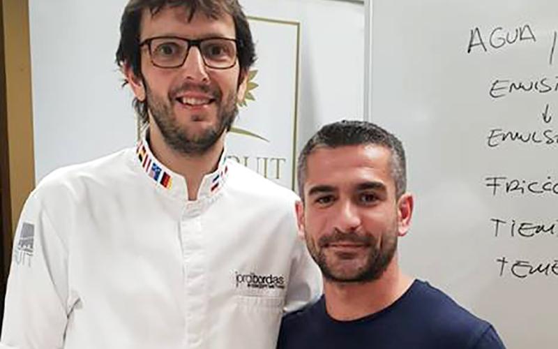 Jordi Bordas y Juan Alberto Aragon