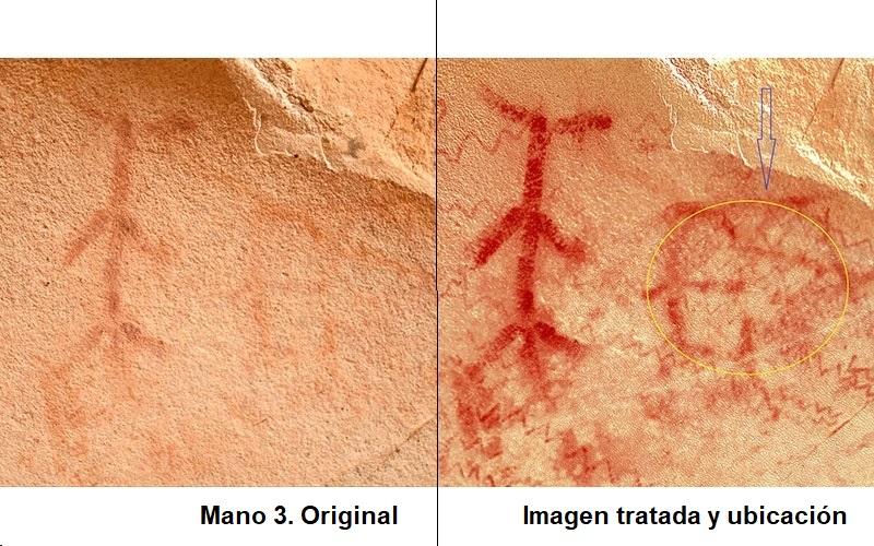 Las Manos Paleolíticas de la Cueva de Las Palomas IV