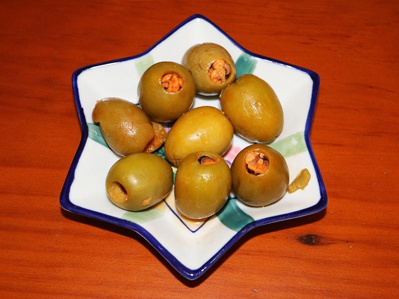 Aceitunas rellenas de mejillones en escabeche (José Luis GC)
