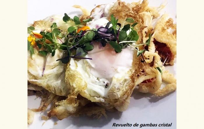 Revuelto-de-gambas-cristal-del-Restaurante-El-Farito-Chiclana
