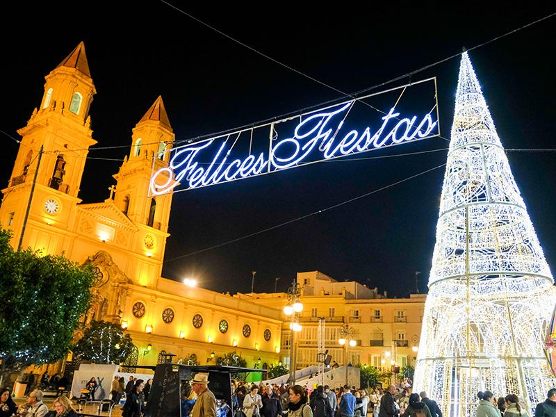 Cádiz en Navidad (Manuel Fernández, Ayto.)