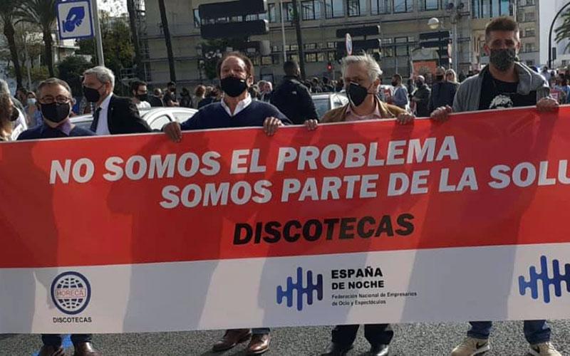 manifestacion hosteleria y restauracion 12 noviembre 2020