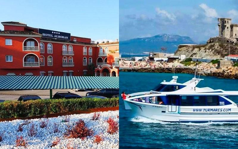 Hotel Alboran y Turmares Tarifa