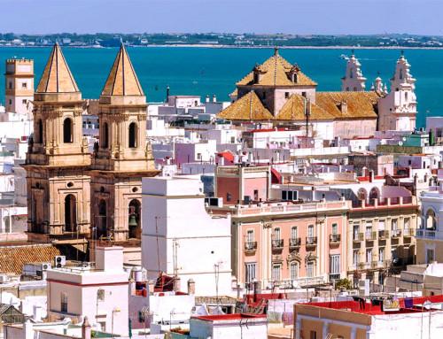 El mar azul de Cádiz (Turismo Cádiz)