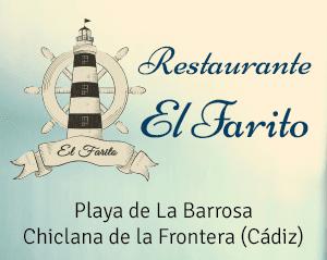Restaurante El Farito. Playa de La Barrosa, Chiclana de la Frontera (Cádiz)