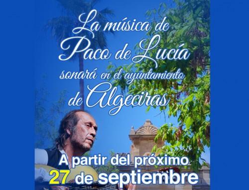 Homenaje de Algeciras a Paco de Lucía desde el 27-S