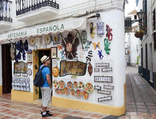 Paseando por el centro de Marbella (andalucia.org)