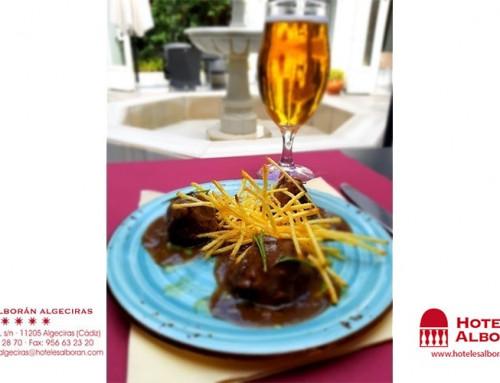 La tapa del Hotel Alborán para el I Oktober Festival